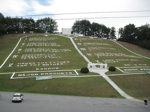World's Largest Ten Commandments