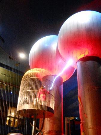 World's Largest Spark Machine
