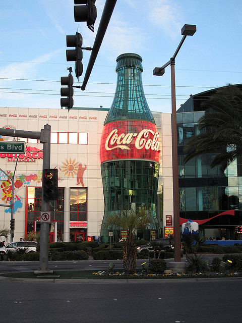 World's Largest Coke Bottle