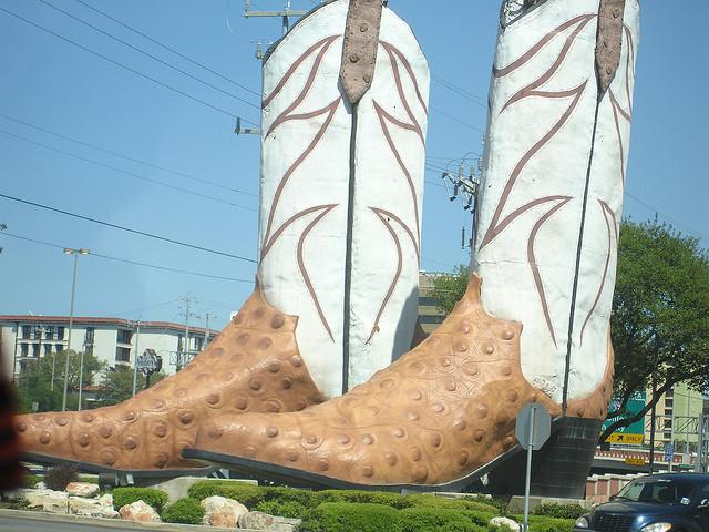 World's Largest Cowboy Boots