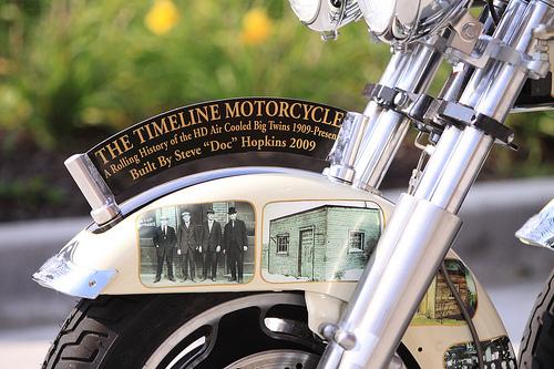 Giant Harley-Davidson Motorcycle