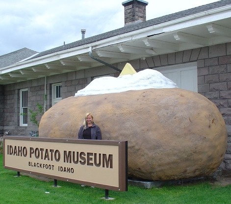 World's Largest Potato Crisp