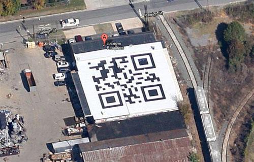 World's Largest QR Code